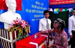 Bầu cử sớm ở một số xã biên giới, hải đảo tại Nghệ An, Quảng Bình và Quảng Ngãi