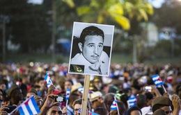 Người dân Cuba tiễn biệt lãnh tụ Fidel Castro về nơi an nghỉ cuối cùng