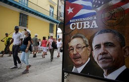 Tổng thống Mỹ sẽ phát biểu trên truyền hình Cuba trong chuyến thăm lịch sử