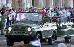 Cuba chuẩn bị cho Quốc tang lãnh tụ Fidel Castro