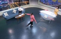 Gặp gỡ cụ bà 70 tuổi đam mê trượt patin