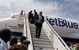 Đường bay thẳng mở hy vọng hợp tác giữa Mỹ và Cuba