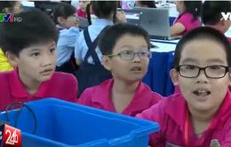 Học sinh TP.HCM háo hức tham dự cuộc thi Robothon quốc gia
