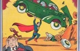 """Cuốn truyện tranh """"tiền thân"""" của Superman bán giá 1 triệu USD"""