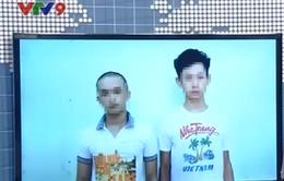 Bắt giữ 2 thanh niên dùng súng giả cướp tài sản tại TP.HCM