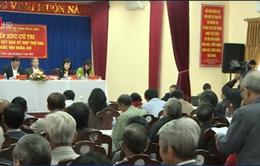 Đồng chí Đinh Thế Huynh tiếp xúc cử tri tại Đà Nẵng
