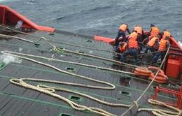 Phú Yên: Cứu sống một thuyền viên bị rơi xuống biển nhiều giờ liền