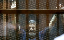 Cựu Tổng thống Ai Cập nhận án 40 năm tù