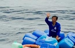 Thuyền viên Việt Nam được cứu sống khi rơi xuống biển