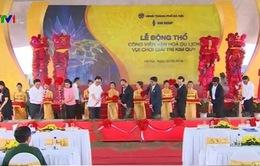 Xây dựng công viên chuẩn quốc tế đầu tiên ở Hà Nội