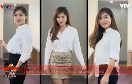 Café Sáng với VTV3: Bí quyết mặc áo sơ mi trắng đẹp