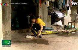 Cảm thương hoàn cảnh éo le của em học sinh nghèo mất cha, mẹ bị bệnh tim