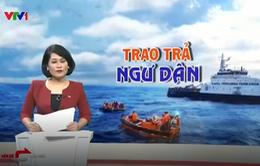 228 ngư dân Việt Nam bị Indonesia bắt giữ đã trở về nước an toàn