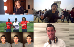 Thanh Bùi xuất hiện cùng Cristiano Ronaldo trong MV ca nhạc đình đám