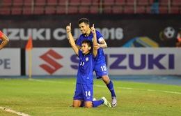 AFF Suzuki Cup 2016, Thái Lan 1-0 Singapore: Sarawut Masuk giúp Thái Lan đoạt vé bán kết sớm