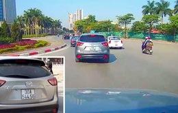 Hà Nội: Triệu tập lái xe ô tô Mazda CX5 gây tai nạn rồi bỏ chạy