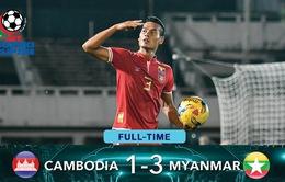 HIGHLIGHT AFF Cup 2016: Zaw Min Tun tỏa sáng, Myanmar ngược dòng ngoạn mục