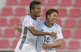 Hủy diệt U23 Thái Lan, Nhật Bản đặt chân vào tứ kết VCK châu Á
