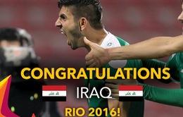 Chủ nhà Qatar cay đắng nhìn U23 Iraq đoạt vé thứ 3 dự Olympic 2016