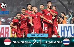 VIDEO: Xem lại chiến thắng ngược dòng ấn tượng của Indonesia 2-1 Thái Lan