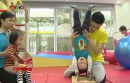 Trẻ em tập gym sớm để nâng cao thể chất và trí não
