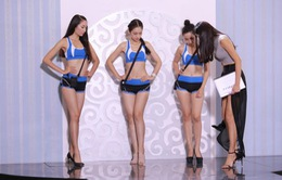 Hoa khôi áo dài Việt Nam: Top 17 thực hành kỹ năng trình diễn bikini
