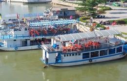22 tàu du lịch không được phép hoạt động trên sông Hàn