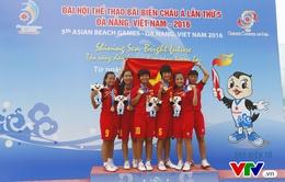 ABG 5: Đội đá cầu bãi biển nữ Việt Nam không nghĩ có thể thắng dễ Thái Lan