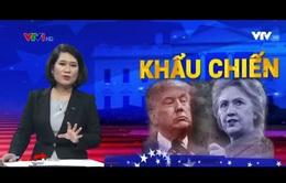 Phản ứng của dư luận Mỹ sau cuộc đấu khẩu giữa Hillary Clinton và Donald Trump