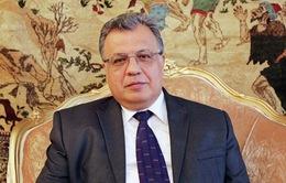Đại sứ Nga ở Thổ Nhĩ Kỳ thiệt mạng sau vụ tấn công bằng súng