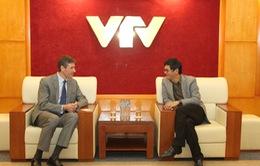 Tổng Giám đốc Đài THVN tiếp Đại sứ Vương quốc Anh tại Việt Nam