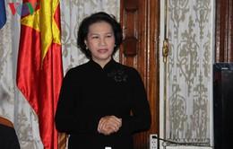 Chủ tịch Quốc hội thăm Đại sứ quán Việt Nam tại Cuba