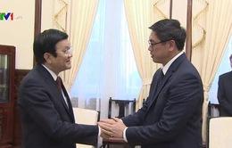 Chủ tịch nước tiếp Đại sứ Singapore chào từ biệt kết thúc nhiệm kỳ