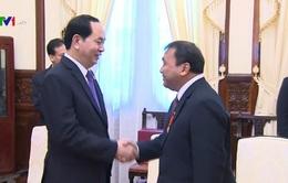 Chủ tịch nước tiếp Đại sứ Campuchia