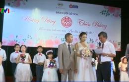 Đám cưới cổ tích của nữ bệnh nhân tan máu