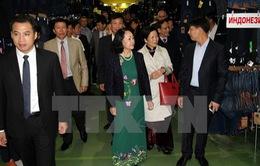 Trưởng Ban Dân vận TƯ gặp mặt cộng đồng người Việt tại Nga