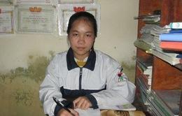 Thành tích học tập của cô học trò nhà nghèo