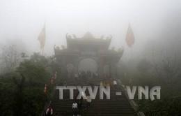 Khu danh thắng Tây Thiên hút khách dịp đầu năm mới