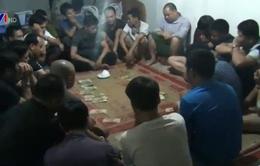 Sơn La: Bắt giữ 21 đối tượng đánh bạc dưới hình thức xóc đĩa
