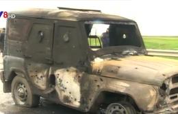 Đoàn xe Bộ Nội vụ Nga bị IS khủng bố