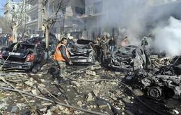 Đánh bom hàng loạt tại Syria, 140 người thiệt mạng