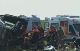 Đánh bom đoàn xe quân sự ở Thổ Nhĩ Kỳ, 6 người thiệt mạng