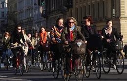 Đan Mạch khai trương làn đường 13km dành cho xe đạp
