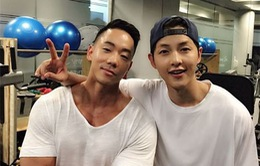 Song Joong Ki tích cực tăng cơ bắp cho phim điện ảnh mới