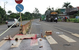 Đắk Lắk: Ô tô vướng dây cáp, phụ xe chết thảm