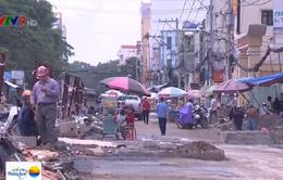 TP.HCM phạt 68 vụ vi phạm thi công đào đường