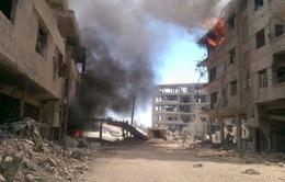 Syria: Gần 5.000 người sơ tán tránh chiến sự