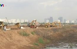 TP.HCM xây dựng hồ điều tiết chống ngập