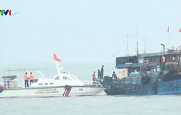 Cảnh sát biển bắt giữ tàu chở 100.000 lit dầu DO trái phép