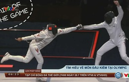 Tìm hiểu về môn đấu kiếm tại Olympic